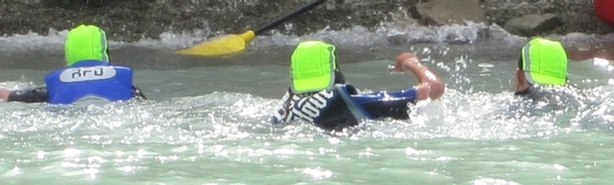 Be seen on the water